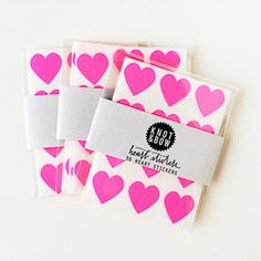 Heart Stickers | Shop Sweet Lulu