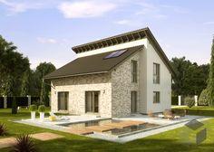 ➤ Finde eine große Auswahl an Häusern mit Pultdächern beim klicken auf das Bild und weitere Häuser mit anderen Dachformen von verschiedenen Anbietern auf ___ www.Fertighaus.de ____ hausbau, neubau, pultdach, dachform, fertighaus, massivhaus, hausvergleich, pultdachhaus, architektur