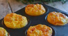 En morsom vri på omeletten til frokost. Sunne, gode muffins som også barna setter pris på! Oppskriften holder til 6 omeletter i muffinsform...