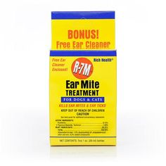 R-7M - Ear Mite Treatment for Dogs and Cats - PetCareRx
