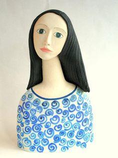 Ceramics by Sue Crossfield at Studiopottery.co.uk - Venus.