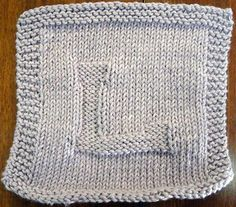 L Dishcloth pattern by Jill Carnell