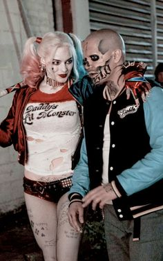 Harley Quinn & Diablo in Suicide Squad