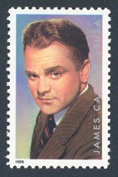 James Cagney - Single Stamp 5th in Legends of Hollywood Series United States, 1999