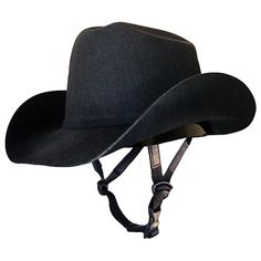 This would certainly shake things up at the barn...Troxel Western Hat Helmet in Helmets / Hunt Caps