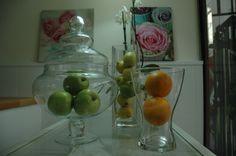 Escaparate con fruta