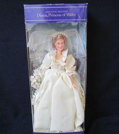 Princess Diana Commemortive 10 inch madame Alexander doll - Madame ...
