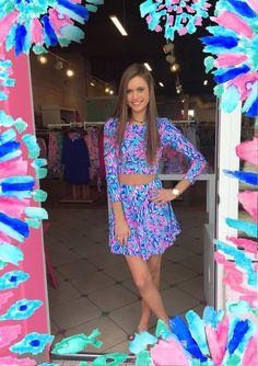 Lilly Pulitzer CARLITA SET $168  /annacourtland/ #yeahthatgreenville /pink/
