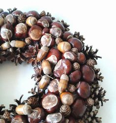 •(★)• Autumn Day, Fall, Harvest Time, Diy And Crafts, Wreaths, Brown, Cottages, Friendship, Household