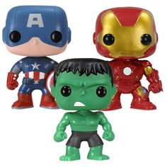 POP Bobble Avengers Set (Partial)