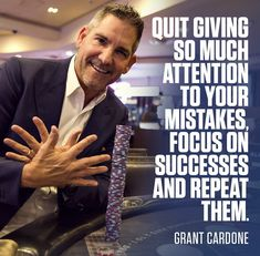 Best Grant Cardone quotes : Grant Cardone is an successful entrepreneur, best selling author and sales expert. Here are some of the best quotes by Grant Cardone that will inspire you. Check out these Inspirational Grant Cardone Sales Success Quotes Motivational Quotes For Success, Inspirational Quotes, Sales Motivation, Team Motivation, Positive Motivation, Business Motivation, Grant Cardone Quotes, Sales Quotes, Learn From Your Mistakes