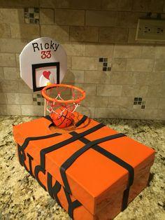 Valentine's Day Basketball box