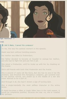 This part was sad before, but now I'm even more sad for Asami, she doesn't deserve what is happening to her.