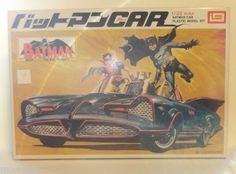 RARE Batman Car Plastic Model Kit 1 32 Scale Batmobile Imai Japanese 1970'S…