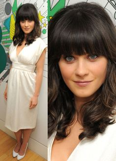 Zooey Deschanel's hair....gotta have it!