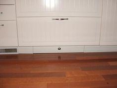 Tutorial on toe kick drawer (Ikea cabinet).
