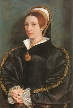 An Unknown Lady, Thought to be a member of the Cromwell Family by Hans Holbein, c.1536-40. (Toledo Museum of Art)