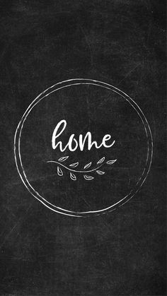 Free Chalkboard Instagram Highlight Covers - Home