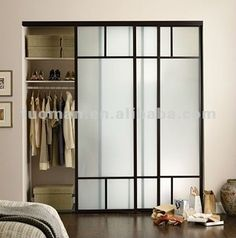 Verre givré placard porte coulissante-image-Portes-Id du produit:540425504-french.alibaba.com
