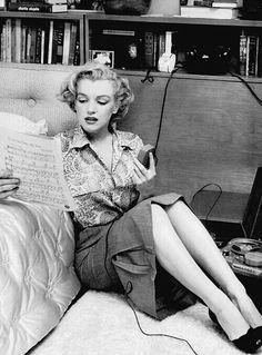 Marilyn photo by John Florea