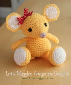 Cute Free Crochet Patterns - Pinterest Top Pins   The WHOot