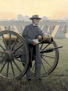 The Solitude Of Command (Robert E. Confederate States Of America, Confederate Flag, America Civil War, Military Art, Military History, Military Service, Southern Heritage, Southern Pride, Simply Southern