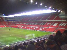 @Manchester for Man. United - FC Porto! UEFA Champions League 2003/2004!    The road to European Champions begun here, in Old Trafford, when Costinha score in the last minute!