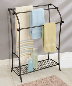 Take A Look At This York Lyra Floor Towel Stand Today!