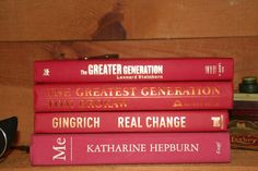 A Vintage Red Instant Library by RiverOfTimeTreasures on Etsy, $20.00