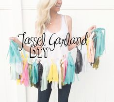 DIY Tassel Garland Tutorial