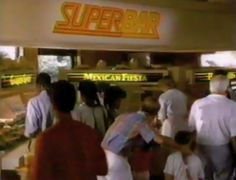 Wendy's Super Bar. I miss it loved making a taco salad there  yummy