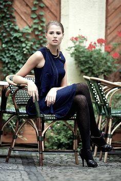 Knielange Kleider - NARA ® Cocktailkleid  - ein Designerstück von Berlinerfashion bei DaWanda