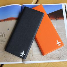 Fenice Simple RFID blocking large passport cover - Fallindesign.com