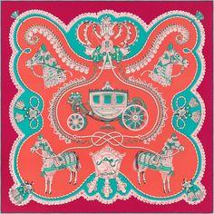 """36"""" x 36"""" scarf Hermès   Paperoles"""