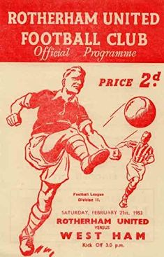 Beighton MW 0 Wrexham 3 in Nov 1952 at Millmoor. The programme cover for the FA Cup Round clash played at Rotherham. Luton Town Fc, Rugby, Doncaster Rovers, Rotherham United, Bristol Rovers, Mens Boots Online, Football Program, Football Soccer, Coventry City