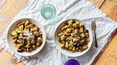 Homemade Gnocchi Recipe - Food.com Kitchen Recipes, Gourmet Recipes, Dinner Recipes, Gourmet Foods, Steak Dinner Sides, Vegetarian Bake, Gnocchi Recipes, Easy Chicken Recipes, Potato Recipes