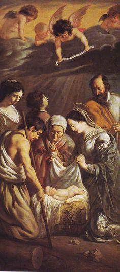 LOUIS LE NAIN AND MATHIEU LE NAIN XX The adoration of the shepherds
