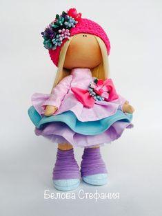 Кукла текстильная. Кукла интерьерная. Рост 31 см - купить или заказать в интернет-магазине на Ярмарке Мастеров - FEO91RU. Москва | Эта девочка- сплошное буйство красок и позитив.