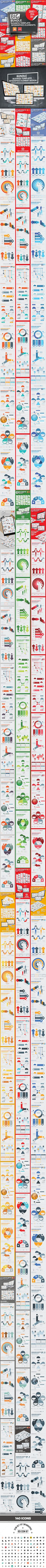 Bundle 10 in 1 Business Infographics Template - graphicriver.net Item for Sale