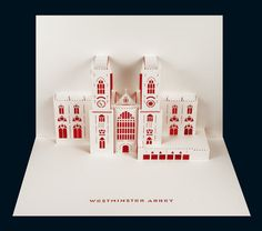 Westminster Abbey pop-up. £5.99, via Etsy.