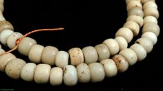 Padres Trade Beads White African