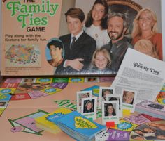 Family Ties Complete Board Game Collectible T. Sitcom, Michael J Fox, Applestreet Inc. by Retrorrific on Etsy Michael J Fox, Game Night, Games To Play, 1980s, Board Games, Nostalgia, Ties, Retro, Lady