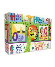 Take a look at this Ceaco Circus Alphabet Floor Puzzle by Games & Puzzles Collection on #zulily today!