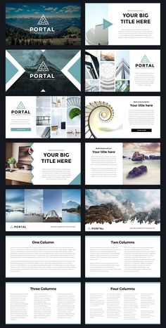 Modern Powerpoint Template by Thrivisualy on Creative Market Portal Modern Powerpoint Template by Thrivisualy on Creative Market. Powerpoint Design Templates, Professional Powerpoint Templates, Ppt Design, Slide Design, Brochure Design, Free Powerpoint Templates Download, Free Powerpoint Presentations, Project Presentation, Presentation Layout