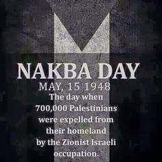 #NakbaDay #Palestine