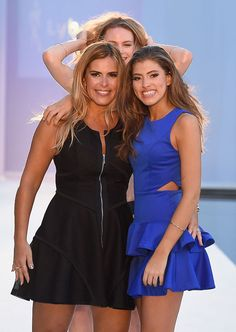 #makeup #bocaraton #makeupartist #miamimakeupartist MIAMI, FL - JULY 17:  Luciana Martinez and Julia Pereira walk the runway at Lybethras 2017 Collection during SwimMiami at The W Hotel South Beach on July 17, 2016 in Miami, Florida.  (Photo by Frazer Harrison/Getty Images for Lybethras)