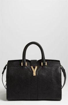 5d1aa93537 Saint Laurent Paris  Cabas Chyc - Mini  Leather