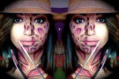 Freddy Krueger Makeup| Halloween| Nightmare on Elm Street| MakeUpEnPointe