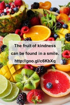 The fruit of kindness can be found in a smile. Message me so we can talk about how coaching could help you. #coachingviaskype #coachingonline #coachingwithwords #kickingwithcompassion #liveyourpotential #whywait H Words, Going Through The Motions, Type 1 Diabetes, Diabetic Recipes, Simple Way, Fruit Salad, Coaching, Nutrition, Wellness