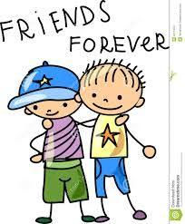 7. Deze afbeelding laat zien dat ik het heel mooi vond dat de vrienden van Otto toch zijn vrienden bleven ondanks dat Otto in eens zo lief en slijmend deed naar leraren.